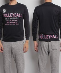 s.a.gear/エスエーギア/長袖グラフィックTEE VOLLEYBALL/500479022