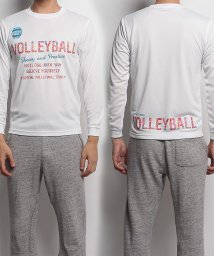 s.a.gear/エスエーギア/長袖グラフィックTEE VOLLEYBALL/500479023
