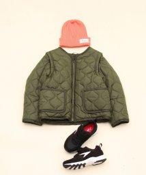 coen/【予約】【coen キッズ / ジュニア】2WAYキルティングジャケット(100〜150cm)/500479036