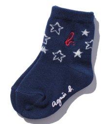 agnes b. ENFANT/GR79 L  CHAUSETTES     STAR B. レッグウェア/500453642