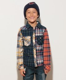 KRIFF MAYER(Kids)/ビエラチェックシャツ(120〜130cm)/500458994