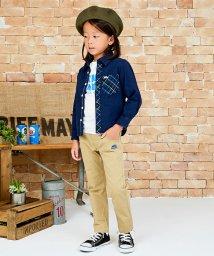 KRIFF MAYER(Kids)/レギュラーネルシャツ(140〜150cm)/500458997