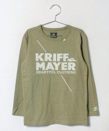 KRIFF MAYER(Kids)/ブランドロゴロンTEE(140〜160cm)/500459001