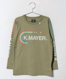 KRIFF MAYER(Kids)/ブランドロゴロンTEE(140〜160cm)/500459003