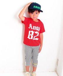 ANAP KIDS/ストライプレギンス&Tシャツ SET/500471546