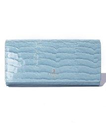 LANVIN en Bleu(BAG)/マゼンダ フラップ長財布/LB0004171