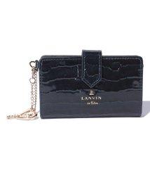LANVIN en Bleu(BAG)/マゼンダ カードケース/LB0004174