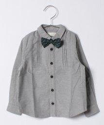 b-ROOM/蝶ネクタイつきシャツ/500470772