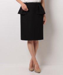 LANVIN en Bleu/【セットアップ対応商品】ペプラムタイトスカート/LB0004204