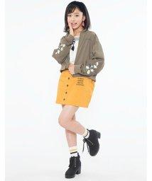 Lovetoxic/【ニコラ10月号掲載】花刺繍MA1/500479826