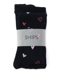 SHIPS KIDS/SHIPS KIDS:ハート タイツ/500490254
