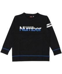 Number/ナンバー/キッズ/ジュニア裏起毛スウェットクルーネック/500490891