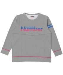 Number/ナンバー/キッズ/ジュニア裏起毛スウェットクルーネック/500490892