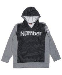 Number/ナンバー/キッズ/ジュニアハイブリッド裏起毛スウェットパーカ/500490900