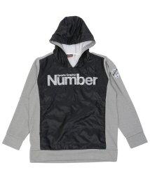 Number/ナンバー/キッズ/ジュニアハイブリッド裏起毛スウェットパーカ/500490901