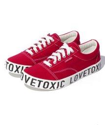 Lovetoxic/底ロゴスニーカー/500483412