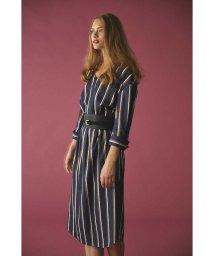 PROPORTION BODY DRESSING/《BLANCHIC》ストライプシャツブラウスワンピース/500507524