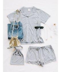 gelato pique/ココナッツオイルシャツ&ショートパンツ巾着セット/500501902