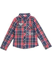 ALGY/ハートワッペンチェックシャツ/500483532