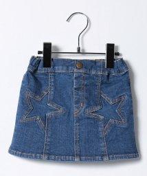 X-girl Stages/スターポケット ストレッチデニムスカート/500491712