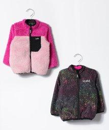 X-girl Stages/フラッフィーリバーシブルジャンパー/500491714