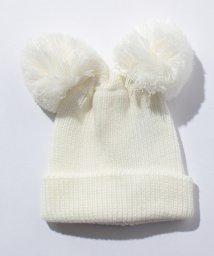 petit main/ポンポンつきニット帽/500491685
