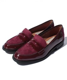 INTER-CHAUSSURES IMPORT/【ABOVE AND BEYOND】異素材コンビローファー/500507105