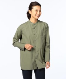 NOLLEY'S/スーピマコットンブロードスタンドカラーシャツ/500511991