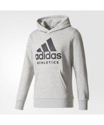 adidas/アディダス/メンズ/M SPORT ID ATHLETICS ロゴ スウェットパーカー (裏起毛)/500525450