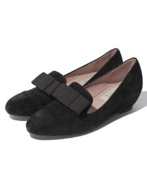 INTER-CHAUSSURES IMPORT/【ABOVE AND BEYOND】インヒールグログランリボンオペラパンプス/500507102