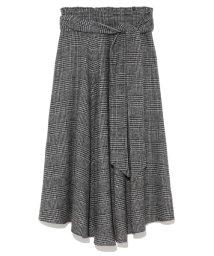 Mila Owen/ウエストリボンフレアスカート/500527114