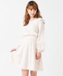 titty&Co./【セットアップ対応商品】アンゴラフレアスカート/500513048