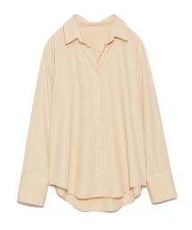 Mila Owen/オープンカラーシャツ/500530494