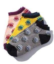 BENETTON (UNITED COLORS OF BENETTON)/レディーススライスドット柄Sソックス・靴下(日本限定)/500511678