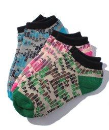 BENETTON (UNITED COLORS OF BENETTON)/レディースカモフラ柄Sソックス・靴下(日本限定)/500511680
