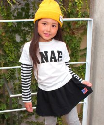 ANAP KIDS/重ね着風ロングTシャツ/500513267