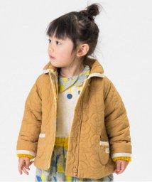 Petit jam / F.O.KIDS MART/ネコとお花のキルティングジャケット/500529041