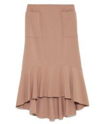 Lily Brown/裾ラッフルタイトスカート/500534787