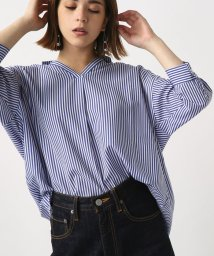 AZUL by moussy/7分袖スキッパーシャツ/500468397