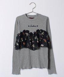 Lovetoxic/花柄ビスチェレイヤード風Tシャツ/500522797