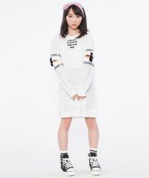 Lovetoxic/袖カットロゴワンピース/500522805