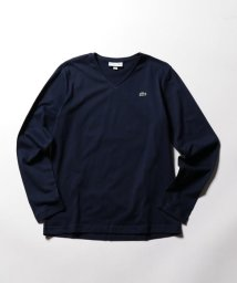 NOLLEY'S goodman/【LACOSTE/ラコステ】Vネック ロンTEE (TH340E)/500526020