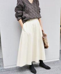IENA/《予約》ハード圧縮フレアスカート◆/500542913