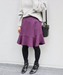 IENA/《予約》フレア切り替えデザインスカート◆/500542914