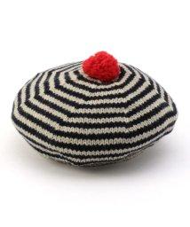 SHIPS KIDS/GREVI:ボーダーベレー帽/500543418