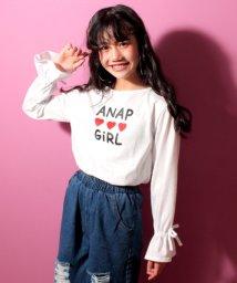 ANAP GiRL/盛り袖リボントップス/500520260