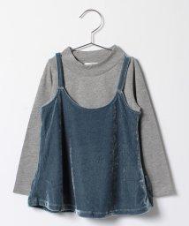 KOE/ベロアキャミソールセットハイネックTシャツ/500520305