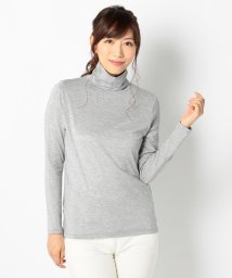 ICB(LARGE SIZE)/【洗える】High Necked Jersey カットソー/500551461