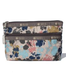 LeSportsac/COSMETIC CLUTCH オーチャードブルーム/LS0019080