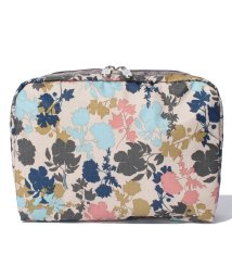 LeSportsac/EXTRA LARGE RECTANGULAR COSMETIC オーチャードブルーム/LS0019081